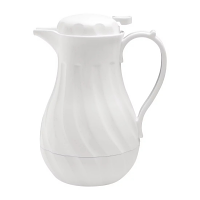 Olympia Insulated Swirl Jug White 2L