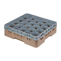 Cambro Camrack Beige 20 Compartments Max Glass Height 114mm