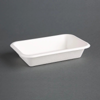 Compostable Food Tray - 16oz 180x120x35mm (Pack 50)