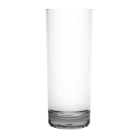 Kristallon Polycarbonate Ringed Tumbler Clear 360ml