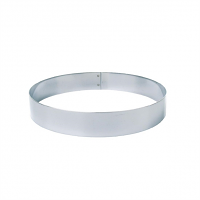 Matfer Stainless Steel Mousse Ring 160mm