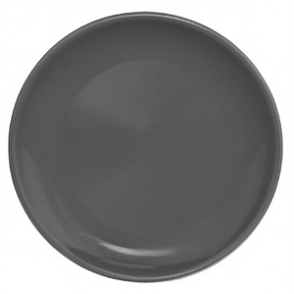 Olympia Cafe Coupe Plate Charcoal 200mm 12pp