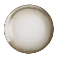 Olympia Birch Taupe Coupe Plates 205mm