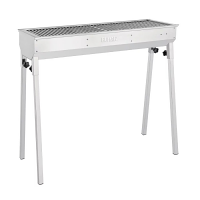 Buffalo Stainless Steel Charcoal BBQ