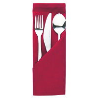 Occasions Polyester Napkins Burgundy