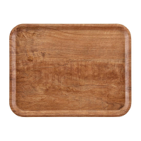 Cambro Wood Grain Tray Madeira 360 x 460mm Brown Olive