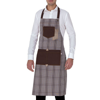 Giblor's Bristol Bib Apron Light Brown