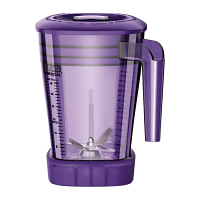 Waring 1.4Ltr Purple Stacking MX Jar with Lid for CB135