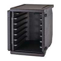 Cambro CamGo Front Loader Insulated Box - 6 Rails
