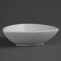 Olympia Whiteware Rounded Triangular Bowl - 155x45mm (Box 6)
