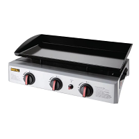 Gas Griddle - 630mm X 360mm cooking area 5kw