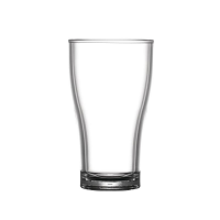 BBP Polycarbonate Nucleated Viking Half Pint Glasses CE Marked