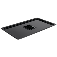Vogue Polycarbonate 1/1 Gastronorm Lid Black
