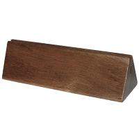 Olympia Acacia Menu Holder Plain (10pp)