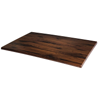 Werzalit Rectangular Table Top Antique Oak 1100mm