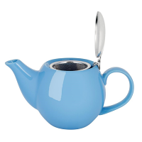 Olympia Cafe Teapot Blue - 510ml 18oz (Box 1)