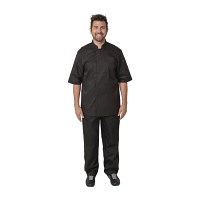 Chef Works Unisex Montreal Cool Vent Chefs Jacket Black