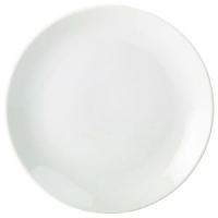 Royal Genware Coupe  Plate 24cm White
