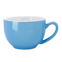 Olympia Cafe Cappuccino Cup Blue - 340ml 12oz (Box 12)