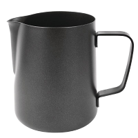 Olympia Black Non-Stick Milk Frothing Jug 900ml