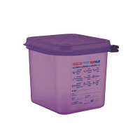 Araven Allergen Container GN - 1/6 2.6Ltr & Airtight Lid
