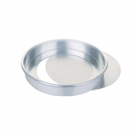 "Aluminium Loose Base Sandwich Tin - 200mm (8"")"