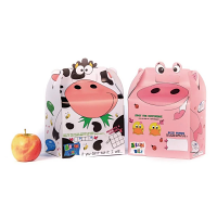 Crafti's Childrens Bizzi Boxes Assorted Farm Cow & Pig (Case 200)
