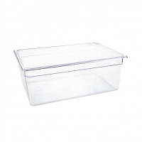 Vogue Polycarbonate 1/1 Gastronorm Container 200mm Clear