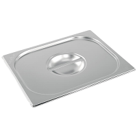 Vogue Stainless Steel 1/2 Gastronorm Lid