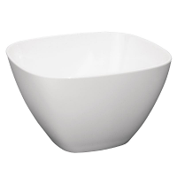 Kristallon Square Bowl White (Pack 12)