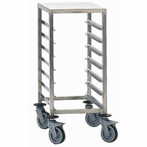 Bourgeat Full Gastronorm Racking Trolley 7 Shelves