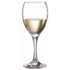 Arcoroc Seattle Nucleated Wine Glasses 240ml CE Marked at 175ml (36pc)