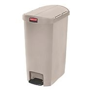 Rubbermaid Slim Step on Side Pedal BEIGE 50Ltr
