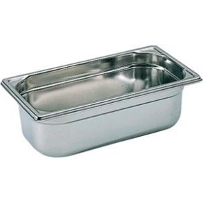 Bourgeat Stainless Steel 1/3 Gastronorm Pan 150mm