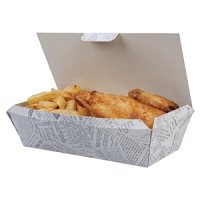Disposable Food Tray Newsprint (150pp)