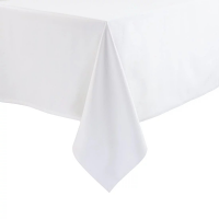 Opulence Tablecloth White Polycotton 1370 x 1780mm