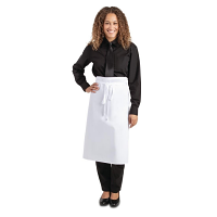 Regular Waist Apron White