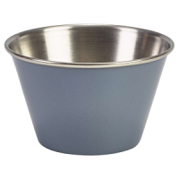 6oz Stainless Steel Ramekin Grey