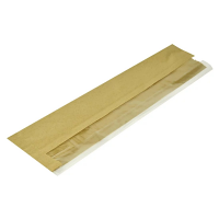 Compostable Baguette Bag with Side Window - 102x152x356mm(Box 1000)