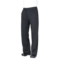 Chef Works Unisex Cool Vent Baggy Chefs Trousers Black