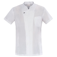 Giblor Apollo Chefs Jacket Short Sleeve White