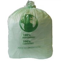 Compostable Swing Bin Liner 90 Litre Pack of 20