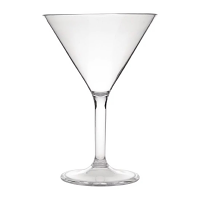 Kristallon Polycarbonate Martini Glasses 300ml