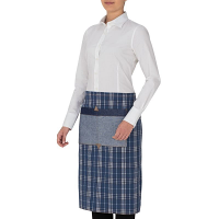 Giblor's Windsor Waist Apron Blue