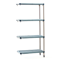 Metro Max Q Shelving Kit L Shape Add On 1590 (H)