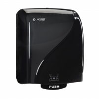Lucart Hygenius Hand Towel Dispenser Black