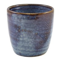 Terra Porcelain Aqua Blue Chip Cup 32cl/11.25oz