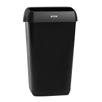 Katrin Waste Bin With Lid 25 Litre -Black