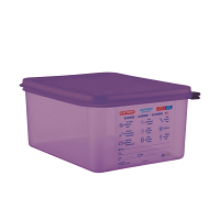 Araven Allergen Container GN - 1/2 10Ltr & Airtight Lid