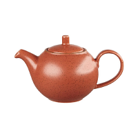Churchill Stonecast Teapot Orange 426ml